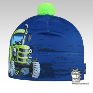 Flavio - zimní funkční čepice - vzor 089
